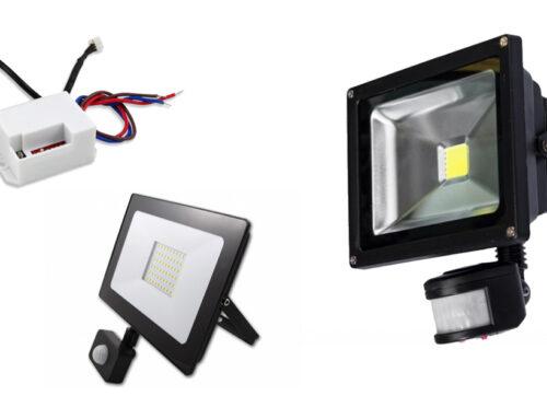 Mozgásérzékelős LED lámpa: kültéri világítás energiatakarékosan