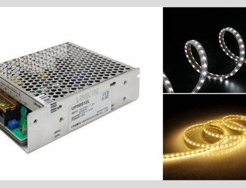 12V tápegység: ideális minden 12 voltos LED szalagokhoz!