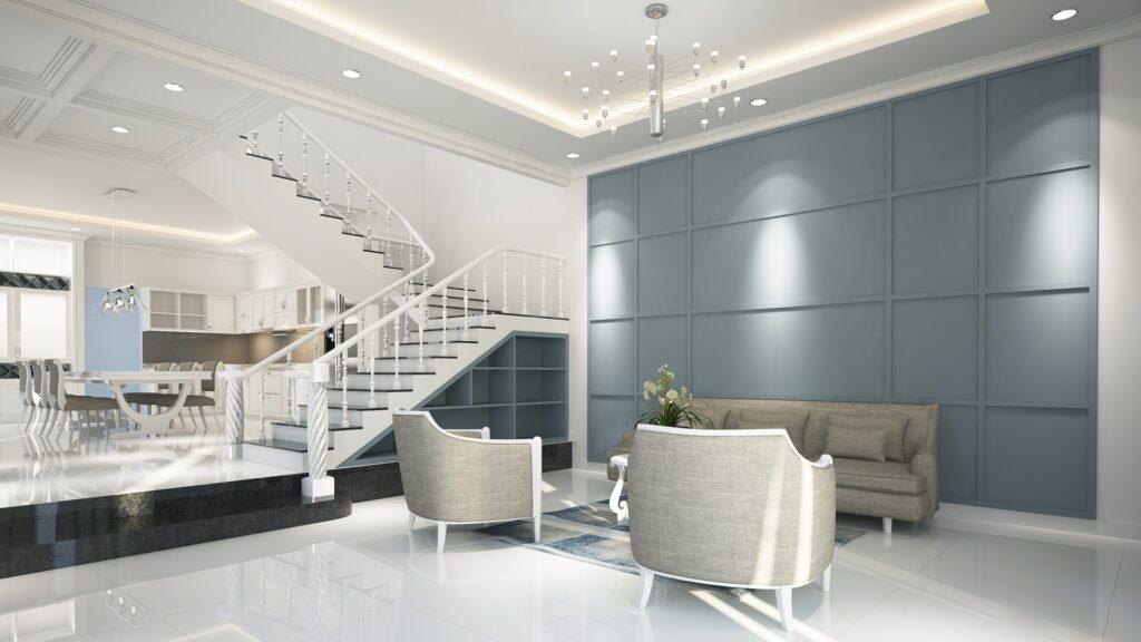 LED szalag a lakásban